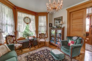 front parlor at Bed and Breakfast