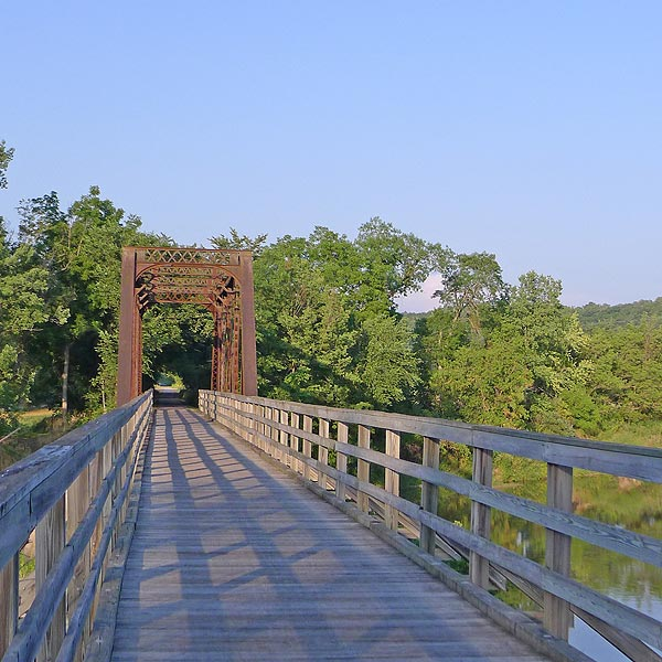 Explore the Root River Trail in Lanesboro, Minnesota