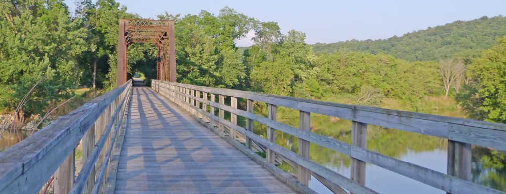 Visit the Root River State Trail near Lanesboro Bed and Breakfast